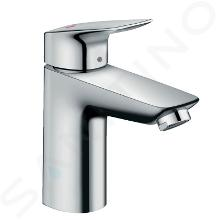 Hansgrohe Logis - Mitigeur de lavabo CoolStart 100 avec garniture de vidage, chrome 71102000