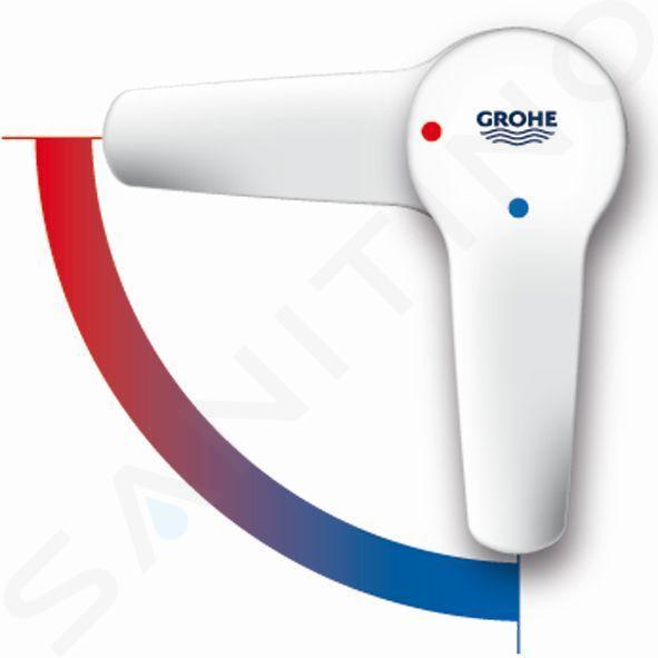 Grohe Eurosmart - Páková umyvadlová baterie ES, chrom 2339510E