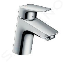 Hansgrohe Logis - Miscelatore monocomando 70 per lavabo, con sistema di scarico Push-Open, cromato 71077000