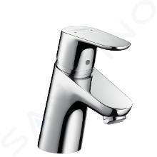 Hansgrohe Focus E2 - Miscelatore monocomando 70 LowFlow per lavabo 3,5 l/min, con sistema di scarico, cromato 31951000
