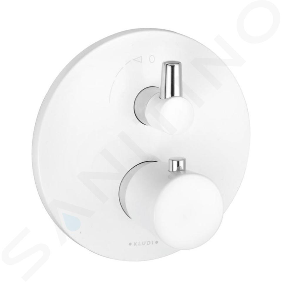Kludi Balance - Thermostat-Wannenarmatur - Unterputz, weiß / chrom 528309175