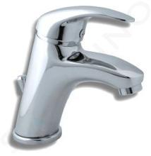 Novaservis Titania Lux - Miscelatore da lavabo, con sistema di scarico, cromo 91001,0