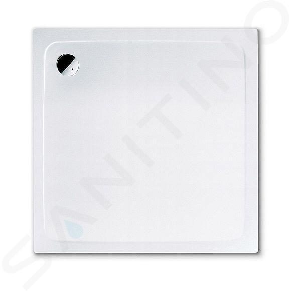 Kaldewei Avantgarde - Čtvercová sprchová vanička Superplan 391-5, 1000 x 1000 mm, bílá - sprchová vanička, celoplošný antislip, snížený polystyrénový nosič 447047940001