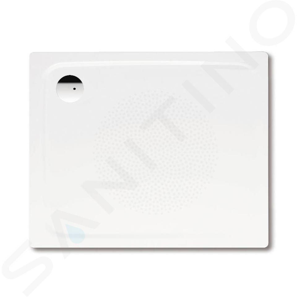 Kaldewei Avantgarde - Obdélníková sprchová vanička Superplan 398-5, 800 x 1000 mm, bílá - sprchová vanička, antislip, snížený polystyrénový nosič 447247930001