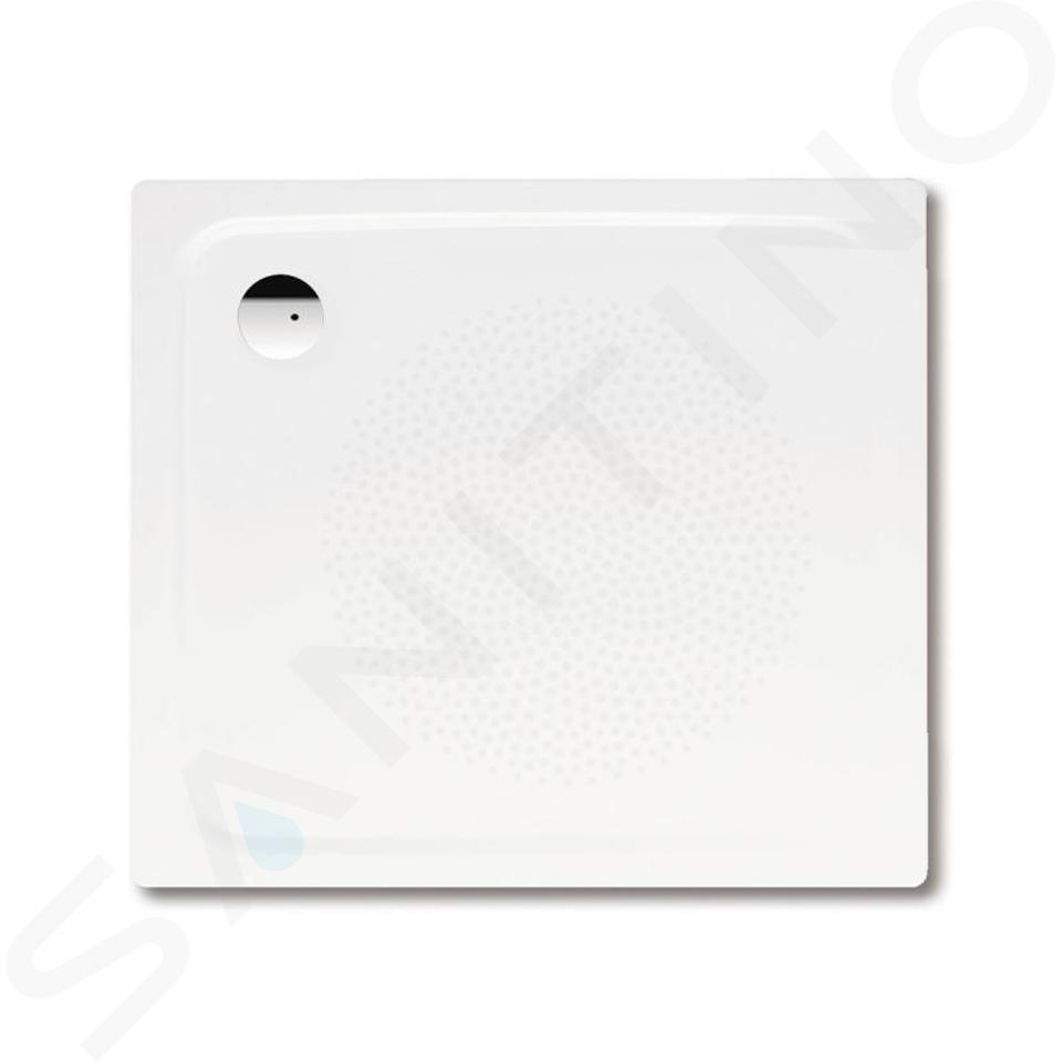 Kaldewei Avantgarde - Sprchová vanička Superplan 387-1, 900x750 mm, antislip, Perl-Effekt, bez polystyrénového nosiče, bílá 447730003001