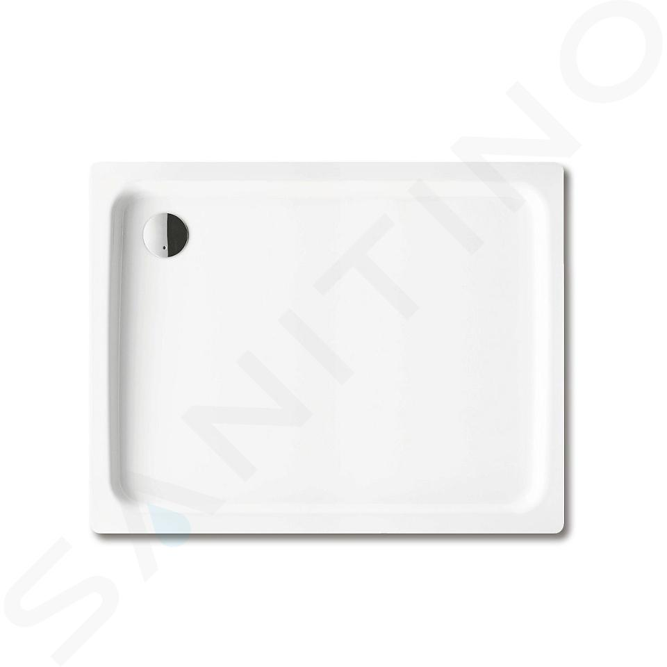 Kaldewei Ambiente - Obdélníková sprchová vanička Duschplan 555-1, 800 x 1200 mm, bílá - sprchová vanička, Perl-Effekt, bez polystyrénového nosiče 448200013001
