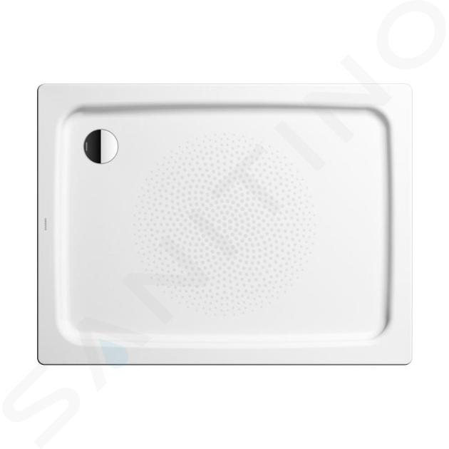 Kaldewei Ambiente - Obdélníková sprchová vanička Duschplan 555-1, 800 x 1200 mm, bílá - sprchová vanička, antislip, Perl-Effekt, bez polystyrénového nosiče 448230003001