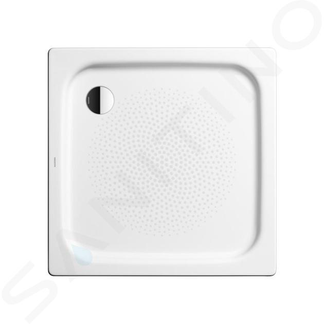 Kaldewei Ambiente - Sprchová vanička Duschplan 554-2, 750x800 mm, antislip, Perl-Effekt, s polystyrénovým nosičem, bílá 448635003001