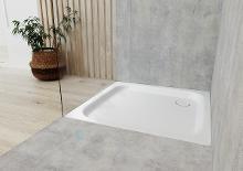 Kaldewei Ambiente - Obdélníková sprchová vanička Duschplan 554-2, 750 x 800 mm, bílá - sprchová vanička, Perl-Effekt, polystyrénový nosič 448648043001