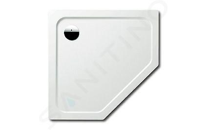 Kaldewei Avantgarde - Pětiúhelníková sprchová vanička Cornezza 673-2, 1000 x 1000 mm, bílá - sprchová vanička, polystyrénový nosič 459348040001