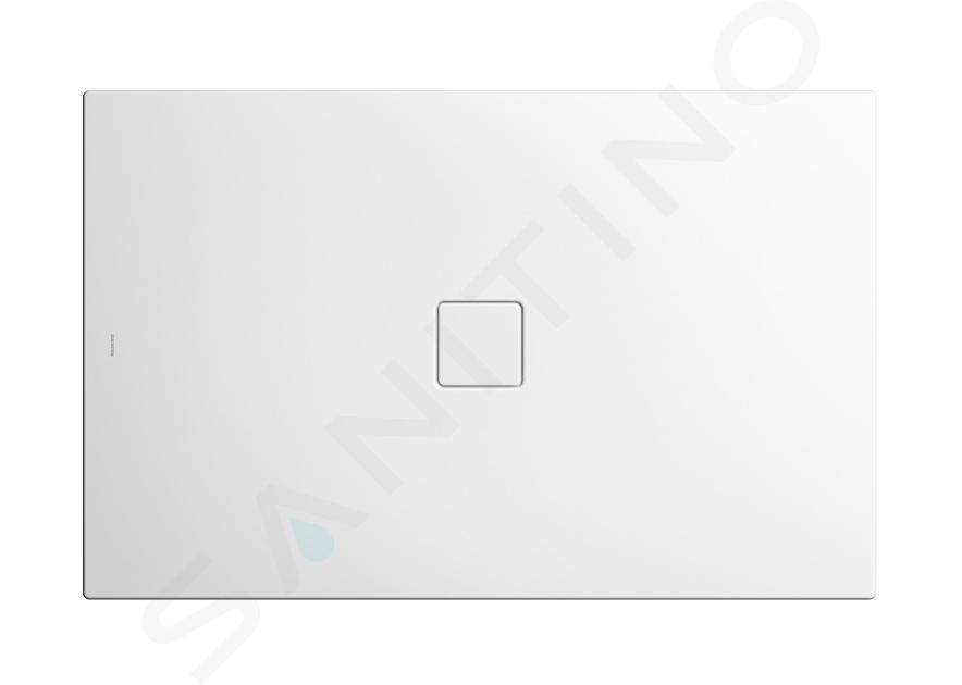 Kaldewei Avantgarde - Sprchová vanička Conoflat 781-1, 1000x800 mm, Perl-Effekt, bez polystyrénového nosiče, bílá 465100013001