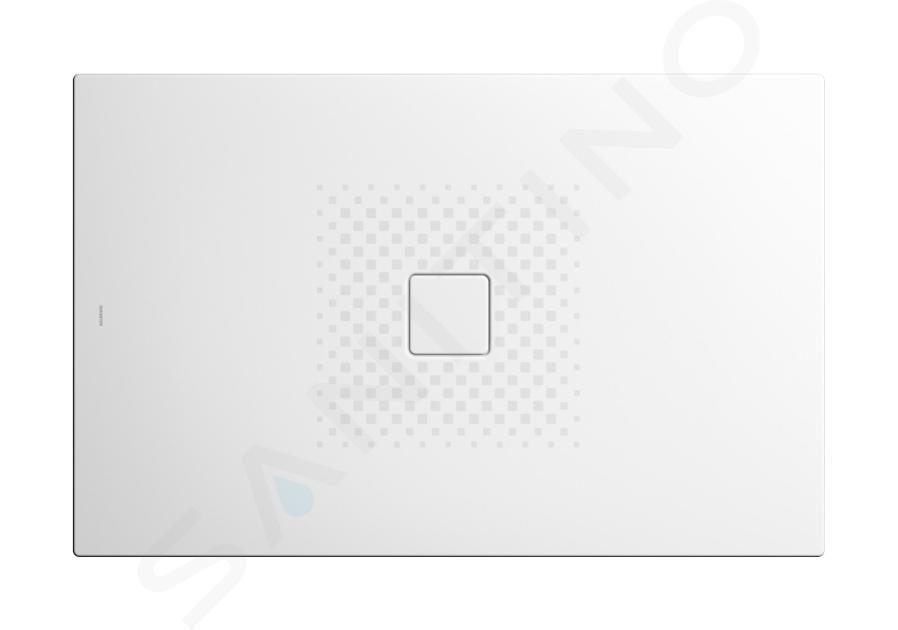 Kaldewei Avantgarde - Sprchová vanička Conoflat 781-2, 1000x800 mm, antislip, Perl-Effekt, s polystyrénovým nosičem, bílá 465135003001