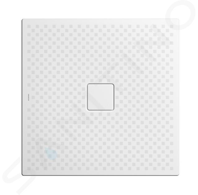 Kaldewei Avantgarde - Sprchová vanička Conoflat 783-2, 900x900 mm, celoplošný antislip, Perl-Effekt, s polystyrénový nosičem, bílá 465335043001