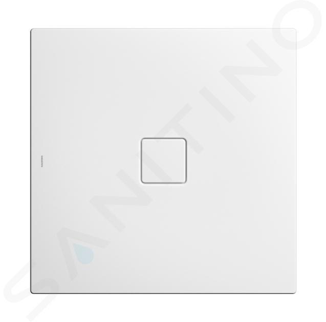 Kaldewei Avantgarde - Sprchová vanička Conoflat 783-2, 900x900 mm, s polystyrénový nosičem, bílá 465348040001