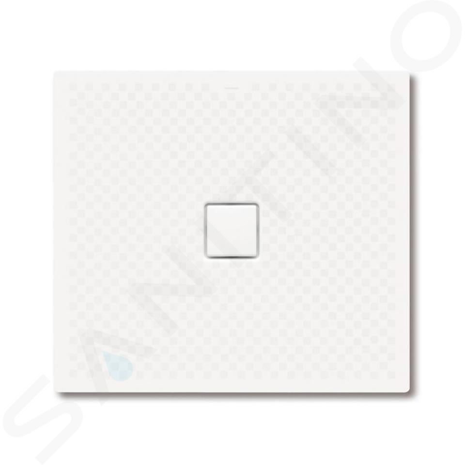 Kaldewei Avantgarde - Obdélníková sprchová vanička Conoflat 784-1, 900 x 1000 mm, bílá - sprchová vanička, celoplošný antislip, bez polystyrénového nosiče 465430020001