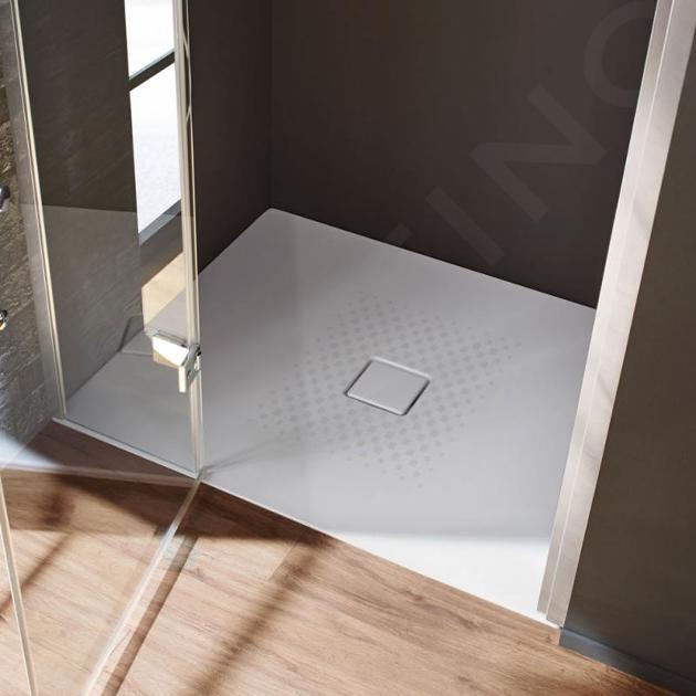 Kaldewei Avantgarde - Sprchová vanička Conoflat 785-2, 1200x900 mm, antislip, Perl-Effekt, s polystyrénovým nosičem, bílá 465535003001