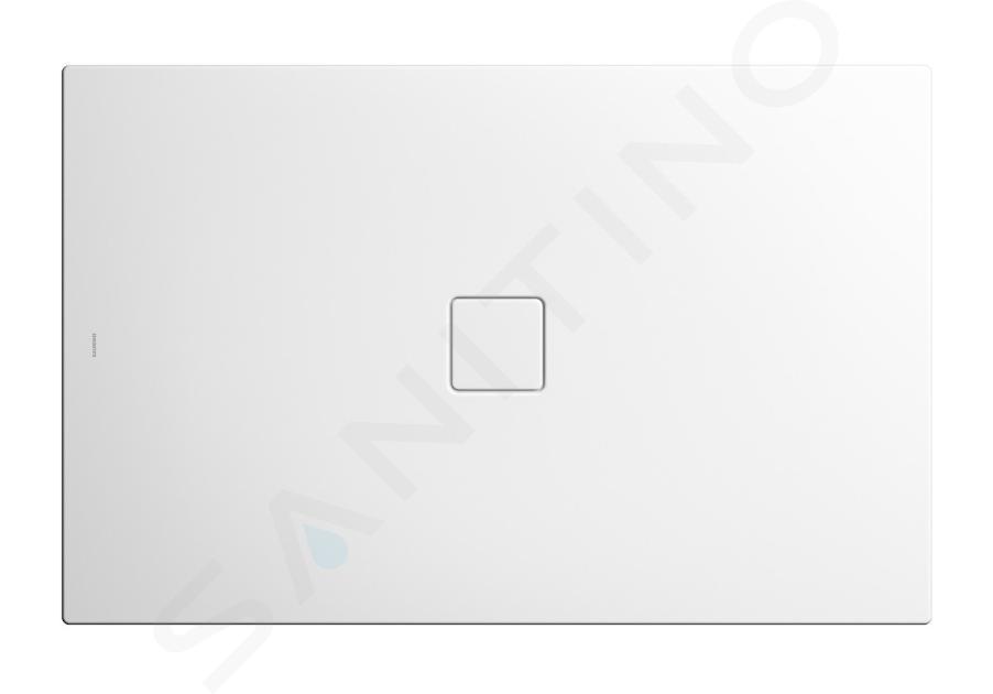 Kaldewei Avantgarde - Sprchová vanička Conoflat 785-2, 1200x900 mm, Perl-Effekt, s polystyrénovým nosičem, bílá 465548043001
