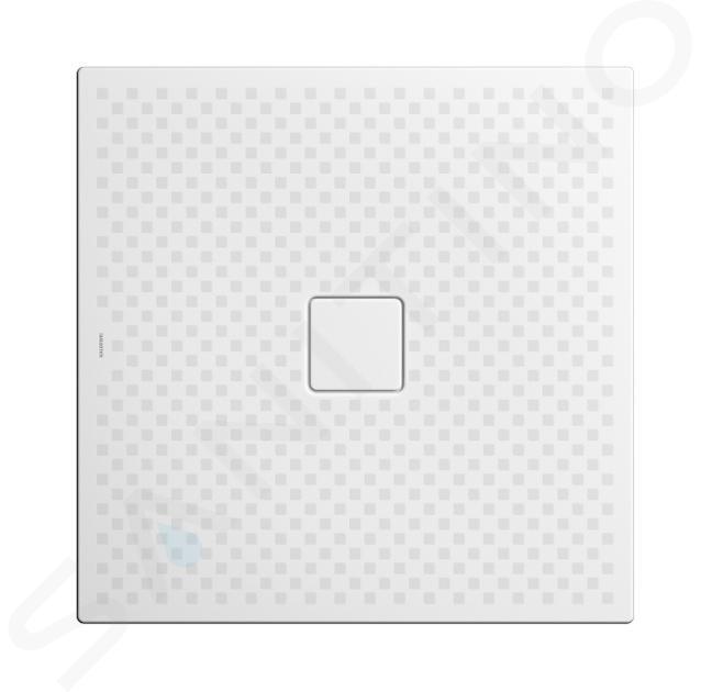 Kaldewei Avantgarde - Sprchová vanička Conoflat 786-1, 1000x1000 mm, celoplošný antislip, Perl-Effekt, bez polystyrénového nosiče, bílá 465630023001