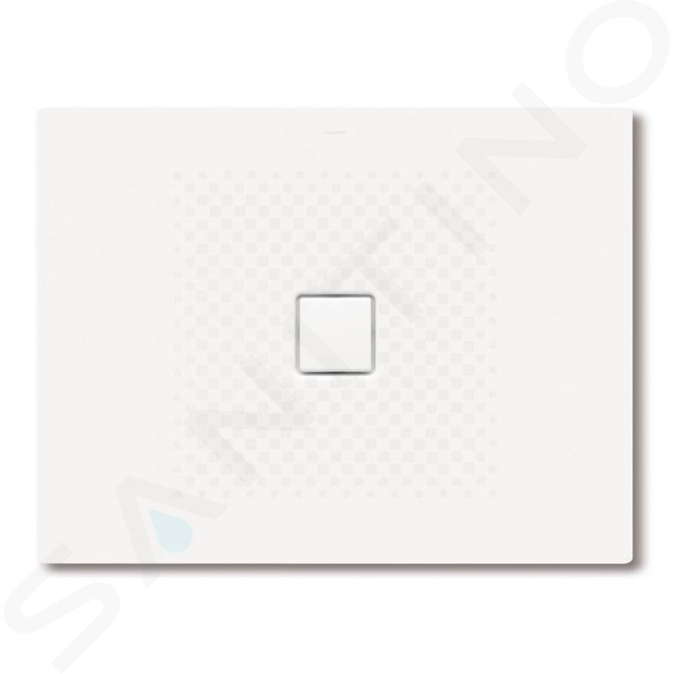 Kaldewei Avantgarde - Obdélníková sprchová vanička Conoflat 791-1, 800 x 1300 mm, bílá - sprchová vanička, antislip, Perl-Effekt, bez polystyrénového nosiče 466130003001