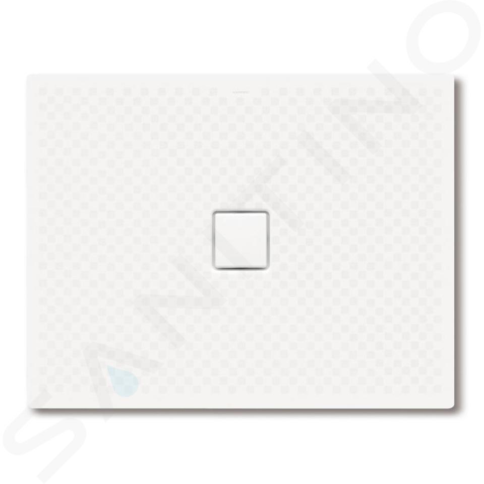 Kaldewei Avantgarde - Obdélníková sprchová vanička Conoflat 792-2, 900 x 1300 mm, bílá - sprchová vanička, celoplošný antislip, Perl-Effekt, polystyrénový nosič 466235043001
