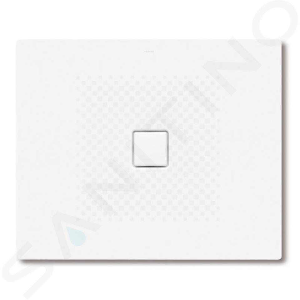 Kaldewei Avantgarde - Obdélníková sprchová vanička Conoflat 793-1, 1000 x 1300 mm, bílá - sprchová vanička, antislip, Perl-Effekt, bez polystyrénového nosiče 466330003001
