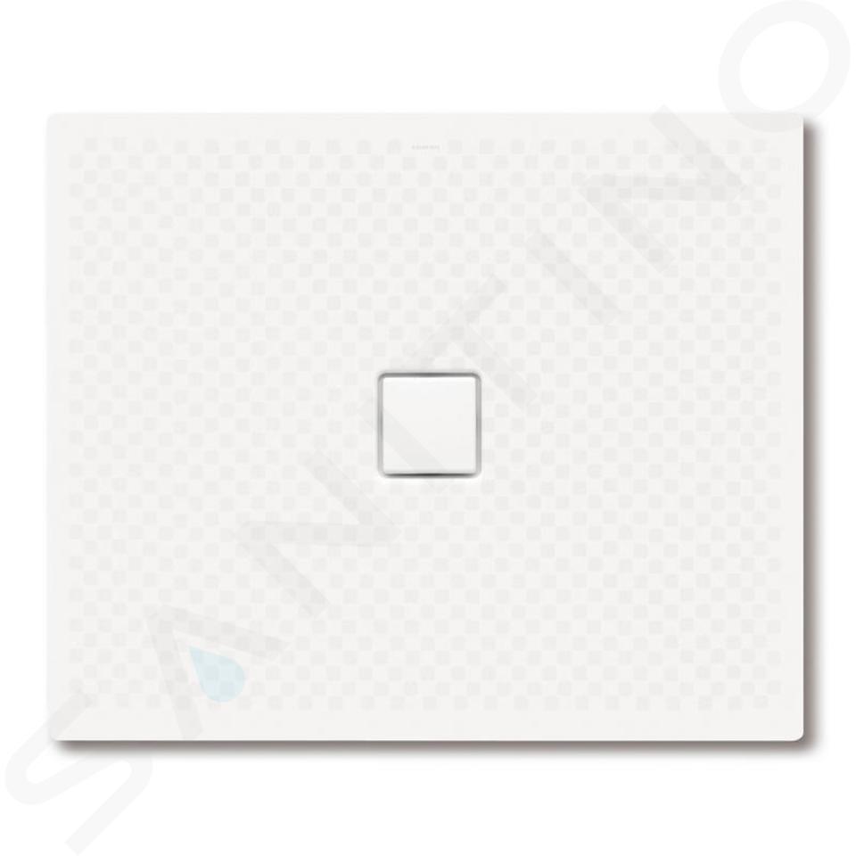 Kaldewei Avantgarde - Obdélníková sprchová vanička Conoflat 793-2, 1000 x 1300 mm, bílá - sprchová vanička, celoplošný antislip, polystyrénový nosič 466335040001