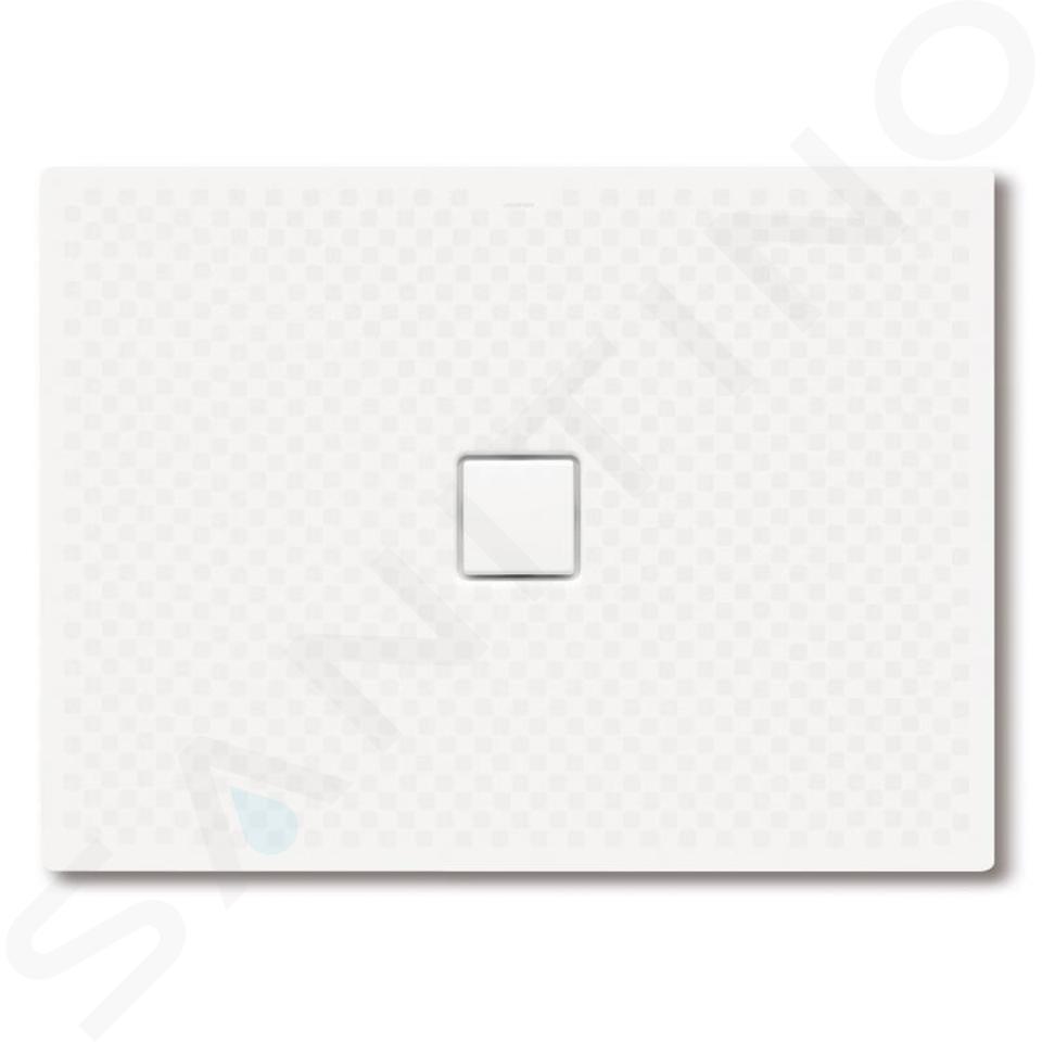 Kaldewei Avantgarde - Obdélníková sprchová vanička Conoflat 794-2, 800 x 1400 mm, bílá - sprchová vanička, celoplošný antislip, Perl-Effekt, polystyrénový nosič 466435043001