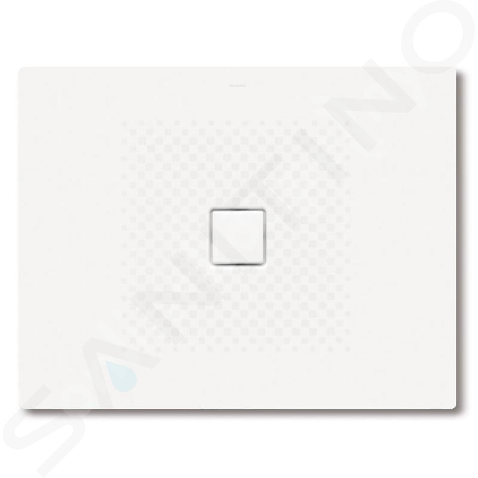 Kaldewei Avantgarde - Obdélníková sprchová vanička Conoflat 796-1, 1000 x 1400 mm, bílá - sprchová vanička, celoplošný antislip, Perl-Effekt, bez polystyrénového nosiče 466630023001