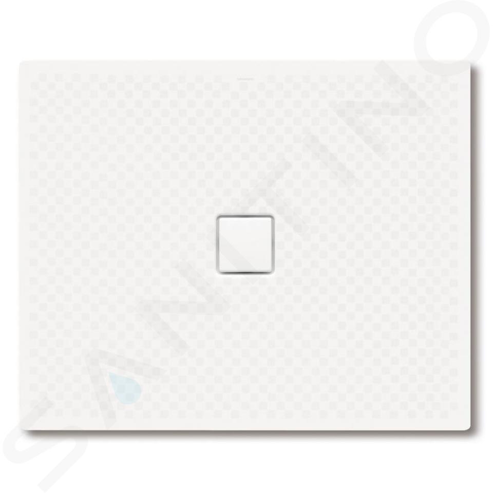 Kaldewei Avantgarde - Obdélníková sprchová vanička Conoflat 796-2, 1000 x 1400 mm, bílá - sprchová vanička, celoplošný antislip, Perl-Effekt, polystyrénový nosič 466635043001