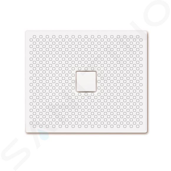 Kaldewei Avantgarde - Obdélníková sprchová vanička Conoflat 853-1, 750 x 900 mm, bílá - sprchová vanička, celoplošný antislip, bez polystyrénového nosiče 466930020001
