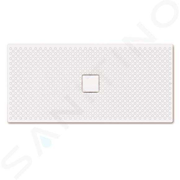 Kaldewei Avantgarde - Obdélníková sprchová vanička Conoflat 858-1, 750 x 1600 mm, bílá - sprchová vanička, celoplošný antislip, Perl-Effekt, bez polystyrénového nosiče 467430023001