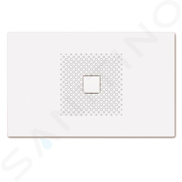 Kaldewei Avantgarde - Obdélníková sprchová vanička Conoflat 861-1, 1000 x 1600 mm, bílá - sprchová vanička, antislip, Perl-Effekt, bez polystyrénového nosiče 467730003001