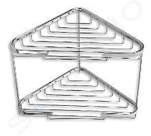 Novaservis Accessiores - draad modellen - Dubbel Hoekplanchet voor douche groot, chroom 6070,0