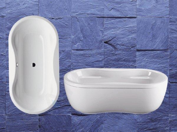 Kaldewei Avantgarde - Vana Mega Duo Oval 184, 1800x900 mm, Perl-Effekt, bílá 223800013001