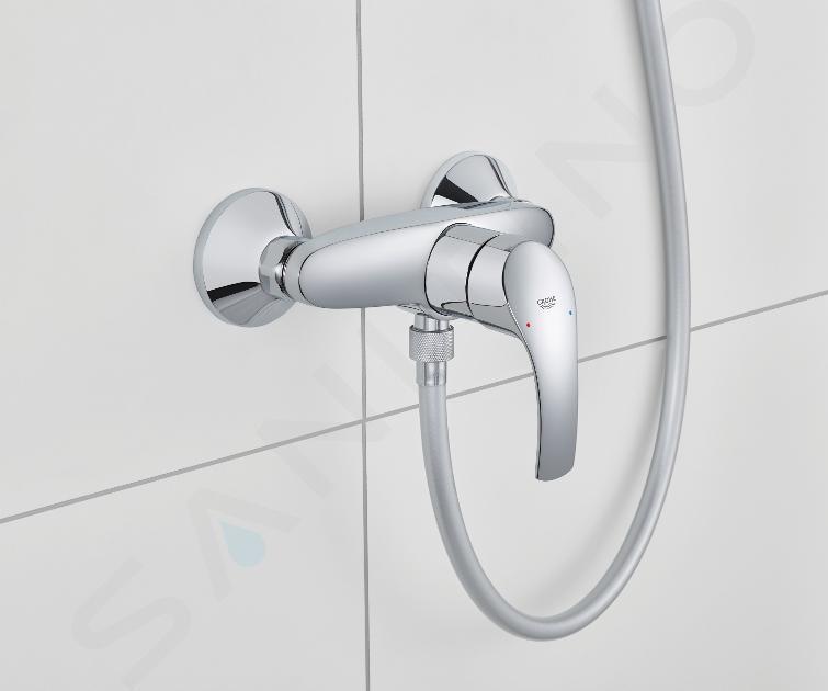 Grohe Eurosmart - Páková sprchová baterie, chrom 33555002