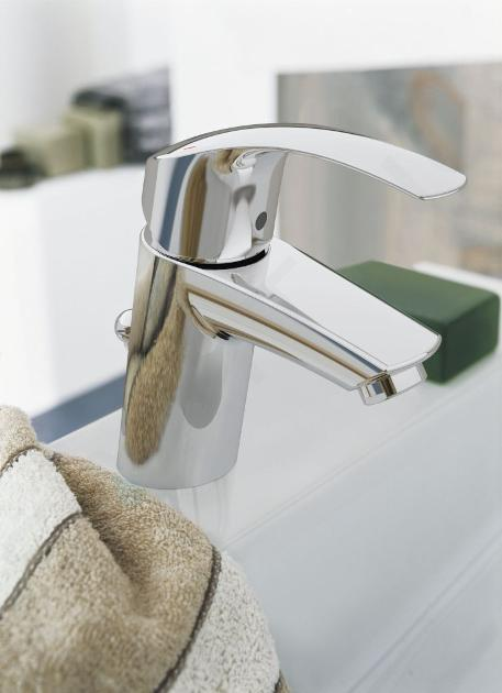 Grohe Eurosmart - Miscelatore monocomando S per lavabo, cromato 33265002