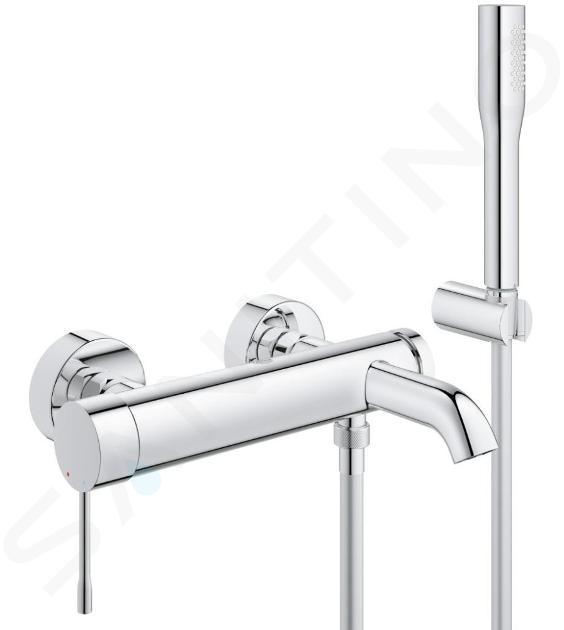 Grohe Essence - Miscelatore monocomando per vasca da bagno, cromato 33628001