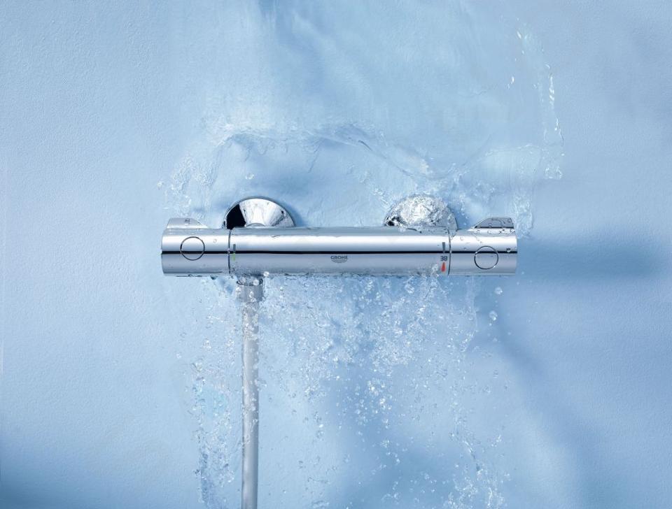 Grohe Grohtherm 800 - Termostatická sprchová baterie, chrom 34558000
