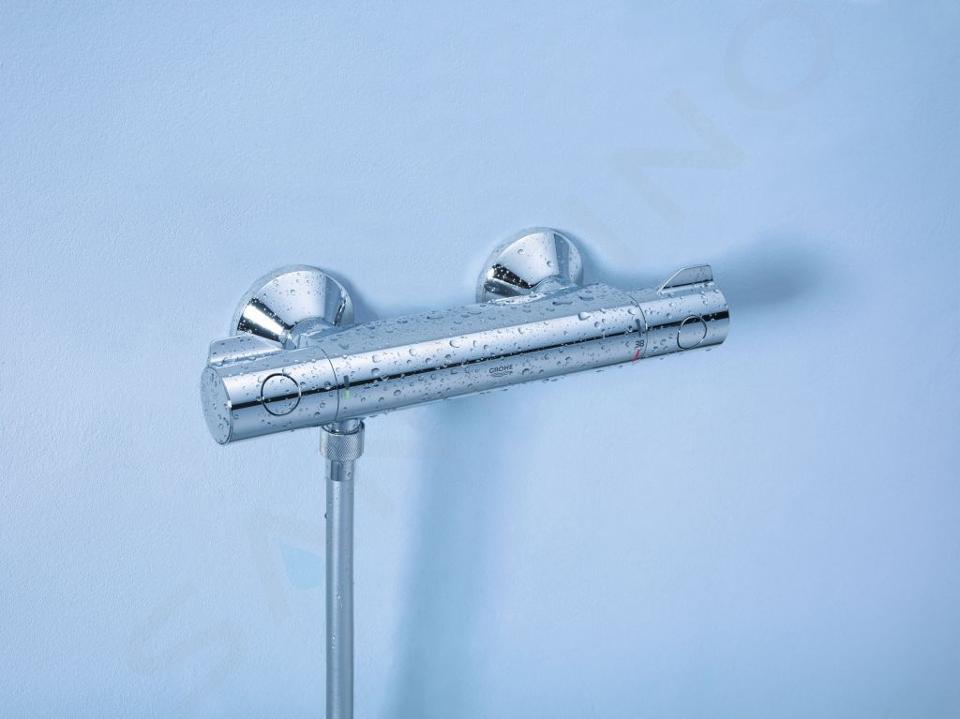 Grohe Grohtherm 800 - Termostatická sprchová batéria, chróm 34558000