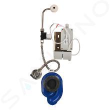 Sanela Senzorové pisoáre - Radarový splachovač na lište s integrovaným zdrojom na pisoár GOLF SLP 36RZ