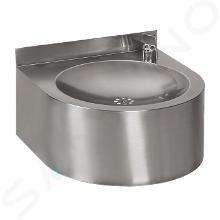 Sanela Nerezové pitné fontánky - Nerezová pitná fontánka s automaticky ovládaným výtokem SLUN 62E