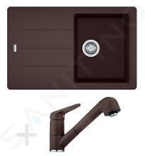Franke Sets - Spoelbakset G57, BFG 611-78 graniet spoelbak, donker bruin + keukenkraan FC 9547, donker bruin 114.0323.919