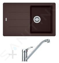 Franke Sets - Spoelbakset G67, BFG 611-78 graniet spoelbak, donker bruin + keukenkraan FG 1839, chroom 114.0365.163