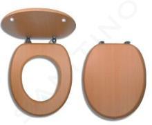 Novaservis Prestige - WC-zitting gefineerd hout, rode beuk WC/BUK