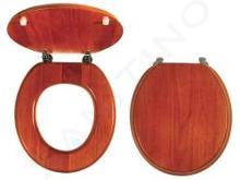 Novaservis Prestige - Copriwater in legno massello, quercia Lyra WC/DUBLYRA