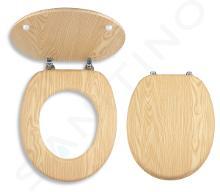 Novaservis Prestige - abattant de toilette, frêne WC/JASAN