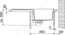 Franke Sety - Kuchynský set T30, tectonitový drez OID 611-78, čierna + batéria FP 9000, ónyx NEW 114.0366.039