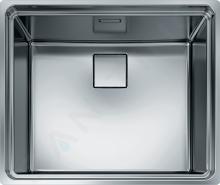 Franke Centinox - Nerezový dřez CEX 210/610-50, 555x465 mm 127.0120.044