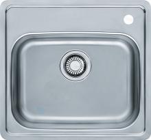 Franke Euroform - Lavello in acciaio inox EFN 610, 510x475 mm 101.0286.019