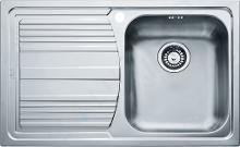 Franke Logica - Lavello in acciaio inox LLL 611/7, 790x500 mm, struttura intrecciata 101.0120.184